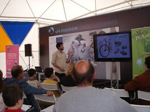 """Sessão de Formação """"Usar a bicicleta como meio de transporte"""""""