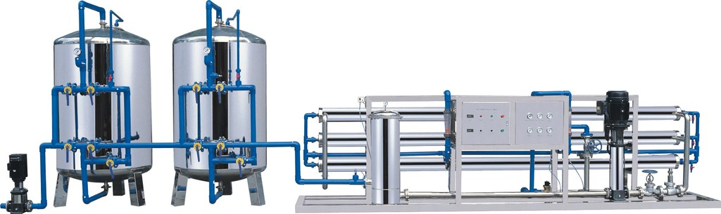 Drinking water treatment machinery