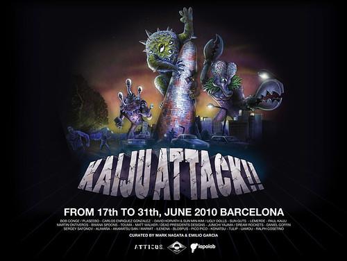 Kaiju Attack! Barcelona