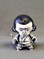 Isao Kimura (jonpaulkaiser) Tags: urban toy designer vinyl kidrobot seven samurai minimunny jonpaulkaiser munnyword
