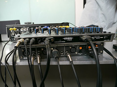 USTREAMスタジオ渋谷 EDIROL M-16DX