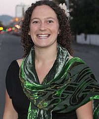 Karen Lynch, representing the Christchurch Irish Society