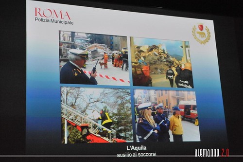 Roma, vigili per la città: incontro con la Polizia Municipale