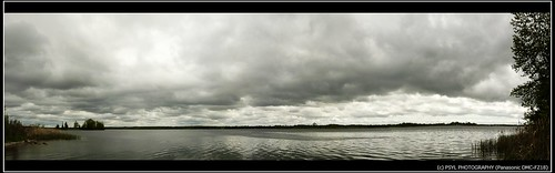 Cloudy over Canal Lake