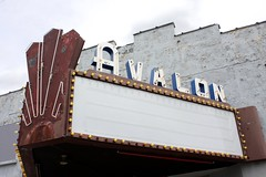 Avalon Sign Front (South Salt Lake City Focus) Tags: marquee utah theater oldsign southsaltlake