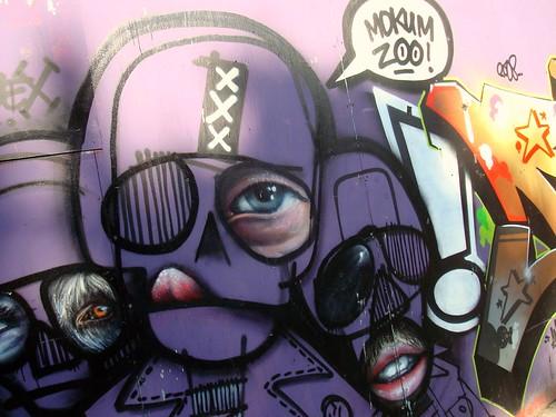 Amsterdam Street Art - Mokum Zoo