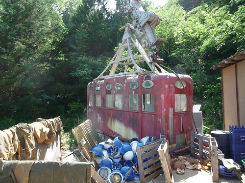 raccoon mtn abandoned gondola.