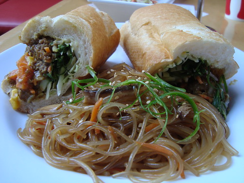 Japanese Meatball Curry Banh Mi @ Starry Kitchen