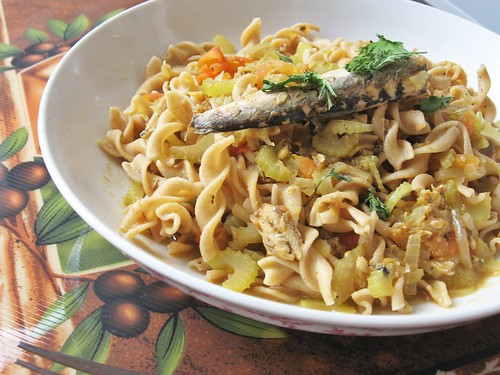 Brisling Sardines Pasta - PPN#187, Alton Brown on Brisling Sardines by ...