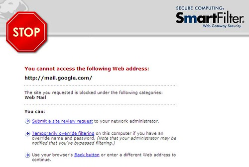webmail - blocked