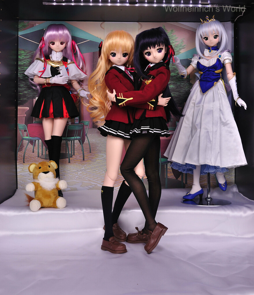 Dollfie Dream Erika, Dollfie Dream Kiriha, Dollfie Dream Estel, Dollfie Dream Feena