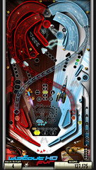 Pinball Heroes Bundle 2 for PSP: Wipeout table