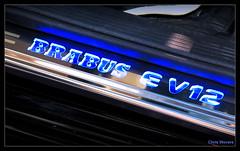 Brabus E V12 (Chris Wevers) Tags: mercedes engine montecarlo monaco panasonic e mercedesbenz tuning dmc brabus v12 biturbo fz50 topmarques w212 ev12 chriswevers