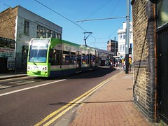Tramlink unit 2536 on service 2 . 23/05/10 (Ledlon89) Tags: bus london transport tram tramway croydon bombardier tramlink tfl firstgroup alltypesoftransport uktramsystems