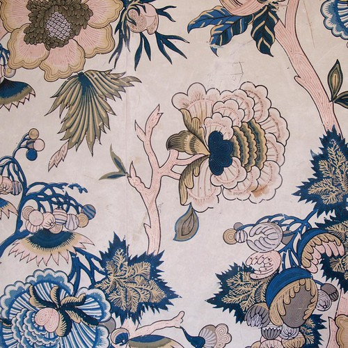 130/365 - Vintage wallpaper in Belsay Hall