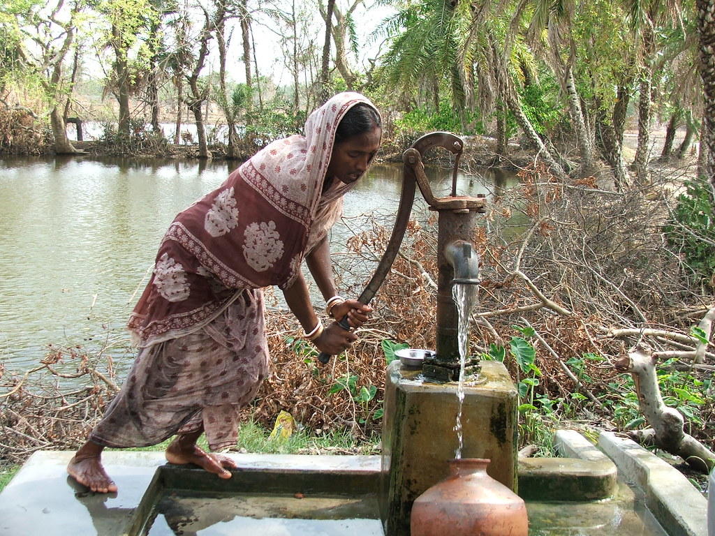 Supply of safe drinking water was critical