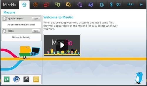 MeeGo Myzone