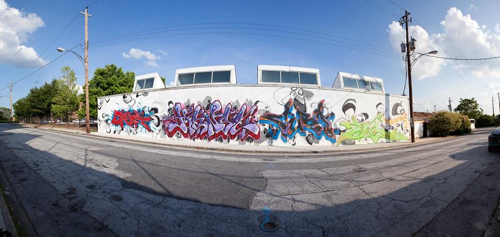 Bankhead Hwy NW Graffiti Panorama