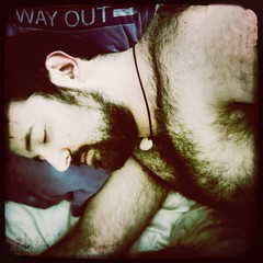 """""""There Is a Way Out of a Furry Sleep"""" (FYFF) (Sion+Anton) Tags: bear nyc sleeping shirtless portrait people hairy selfportrait self square beard beards dreaming squareformat athome mememe wayout sion allrightsreserved iphone hairychest 500x500 gaymale nakedchest fyff iphoneography ©sionfullana gaybeardedmale iphone3gs editedanduploadedoniphone beardedgaymale hipstamaticapp furrysleep"""