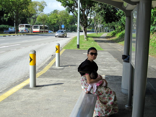 breastfeeding euna - bus station