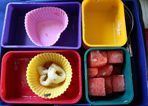Kindergarten Bento #329: the aftermath