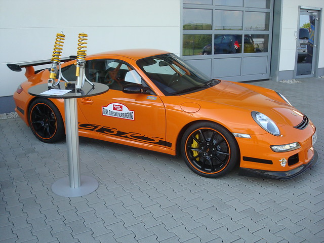 997 GT3Rs with our new CR shocks