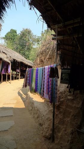 長頸族居住的村子