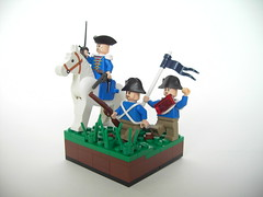 EoW - Revolutionary Wars (DarthNick) Tags: war lego military group competition evolution annual brickarms