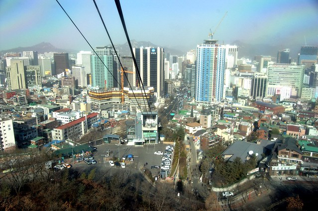 南山纜車 Namsan Cable Car, Seou