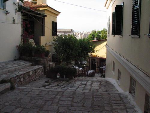 Calles de Atenas Foto