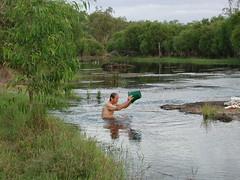 Hann R bath (spelio) Tags: 2001 travel bucket australia terry qld queensland bathing splash retirement fnq 0views 011110 notinanygroups