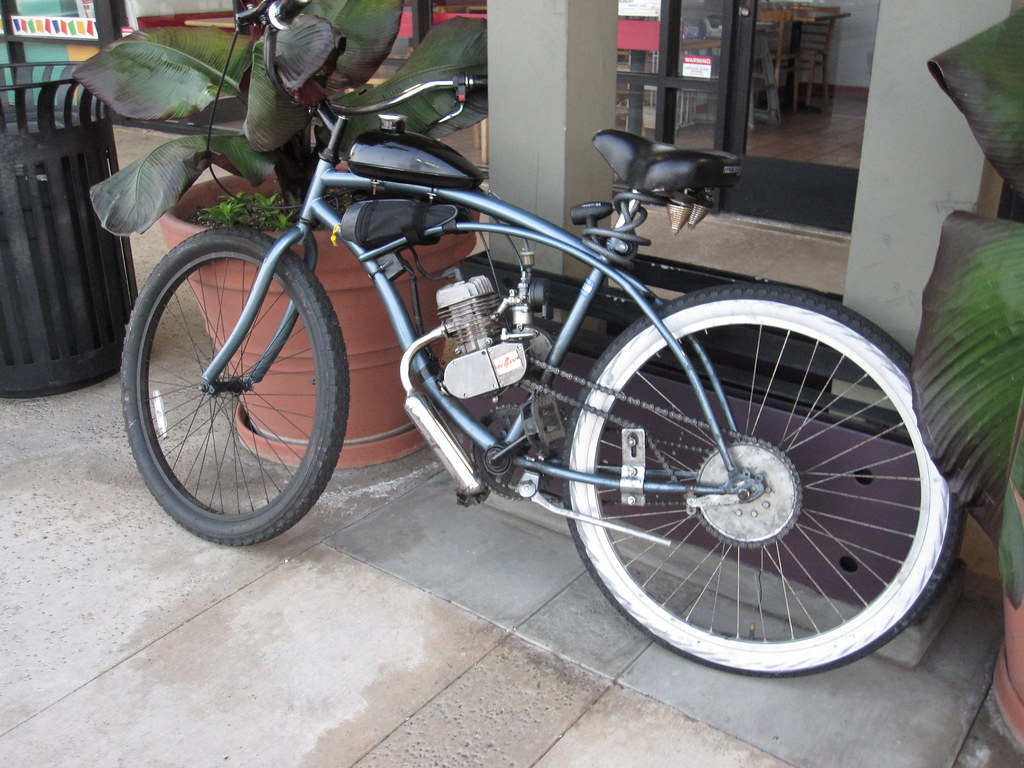 Gasoline Engine Bicycle