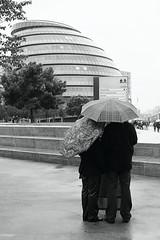 GL Rain (cybertect) Tags: rain umbrella cityhall umbrellas queenswalk se1 morelondon glabuilding canonef50mmf14usm londonse1 pottersfields canoneos5d rpp