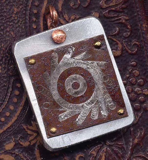 'Newborn Star' Steampunk Pendant