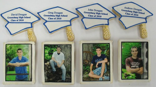 [Image from Flickr]:Graduation Cookies
