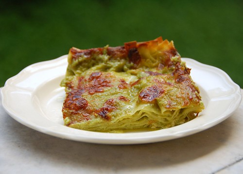 lasagne alla portofino