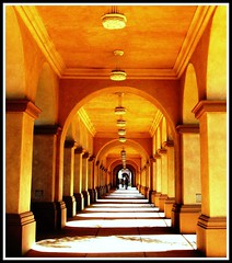 Balboa Park, San Diego, California (moonjazz) Tags: california travel building art stone museum architecture photography design arch sandiego walk great best spanish mission visitor worldsfair balboapark mywinners