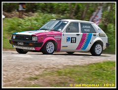 20100529_700RB10 (nichian) Tags: sports car tarmac stage rally surface drivers 2010 rallying toyotastarlet rb10 joshread hangmanhillcanefield rallybarbados2010