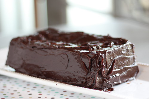 Dressy Chocolate Loaf Cake for Tuesdays with Dorie
