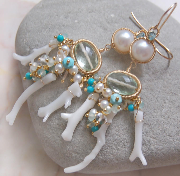 The Calypso earrings ~