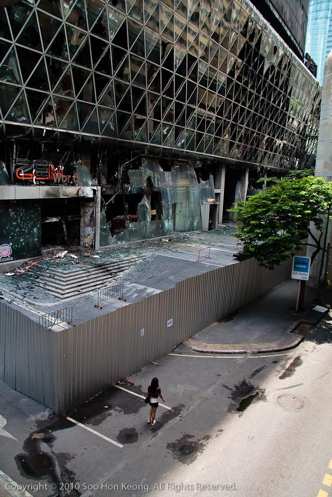 Central World (Aftermath) @ Bangkok, Thailand
