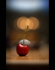 cherry (D.Reichardt) Tags: germany cherry 50mm europe dof bokeh stillife 18 superaplus aplusphoto dreichardt