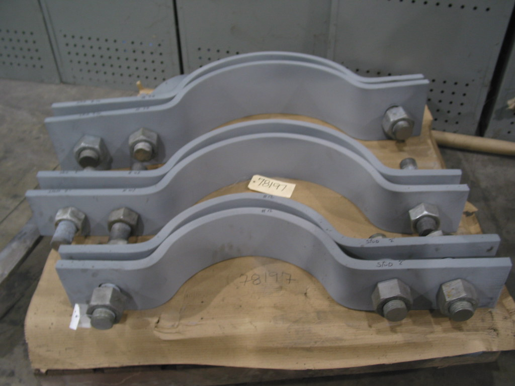 Three-Bolt Clamps for a Power Plant