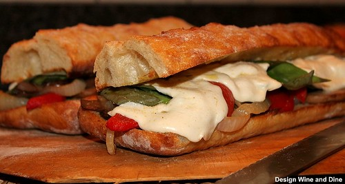 Cherrywood Smoked Mozzarella Sandwich