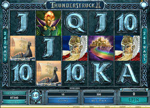 Thunderstruck II  slot game online review