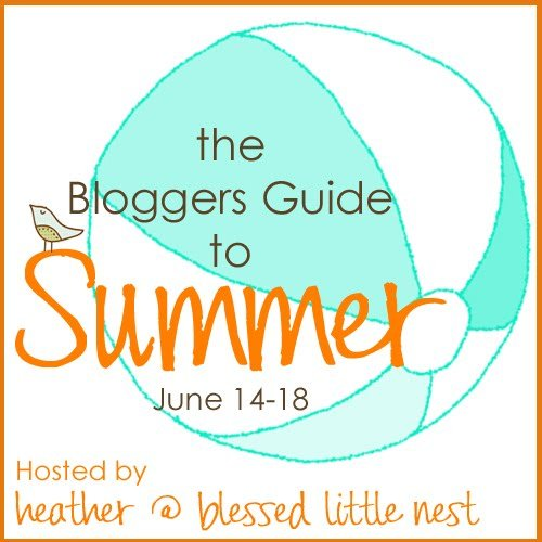 the bloggers guide to summer button copy