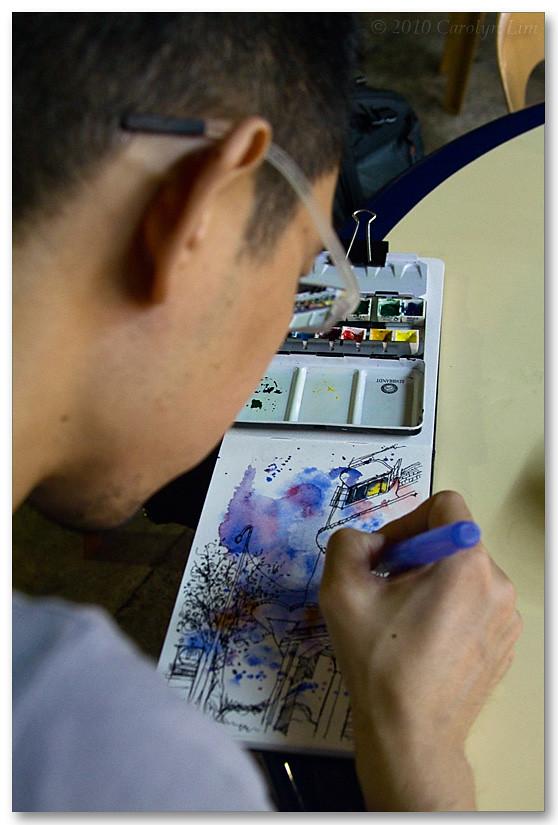 Sketchwalk @ Tiong Bahru, Singapore