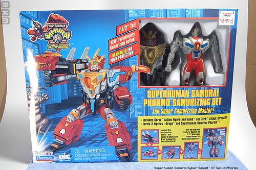 Superhuman Samurai Syber-Squad - ST Servo Phormo