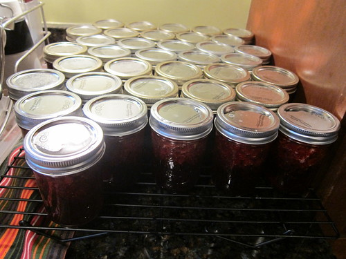 #163 - 36 cans of strawberry jam