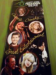 Cape Cod Melody Tent 2010 lineup
